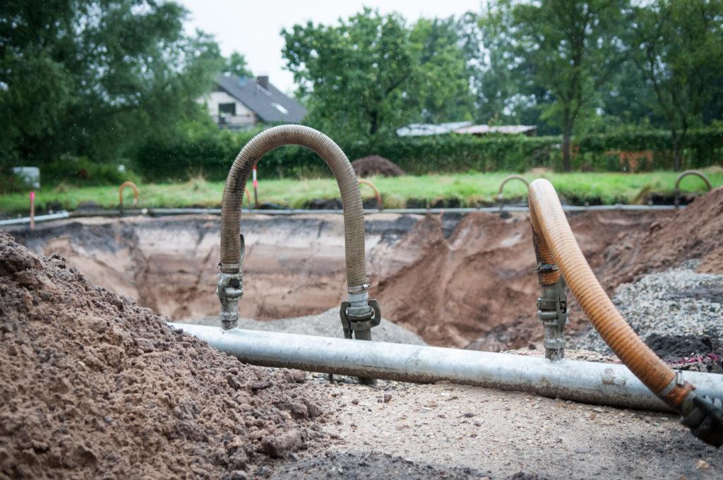Grundwasserabsenkung