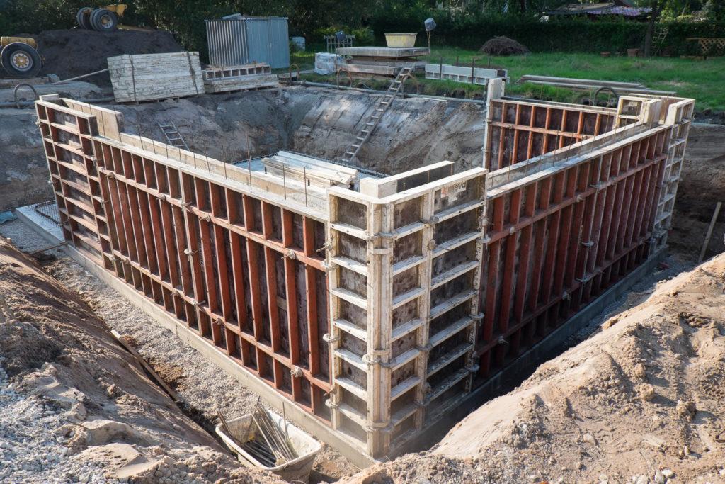 Keller aus WU Beton