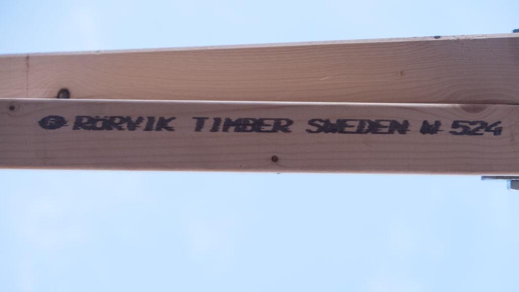 Rörvik Timber Sweden, das Holz ist schon ganz schön rumgekommen