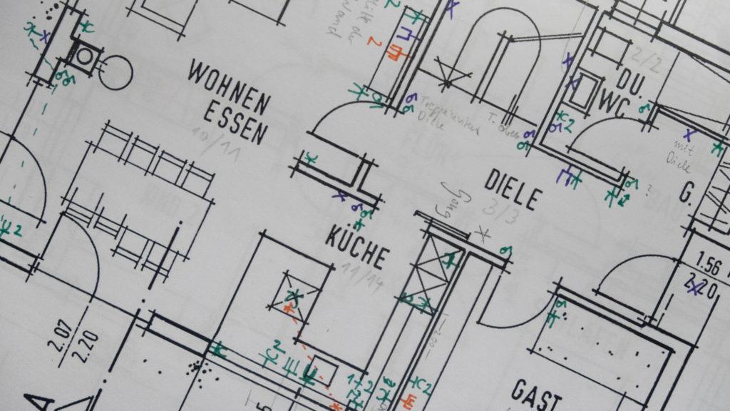 Planung von Steckdosen, Schaltern und Co.