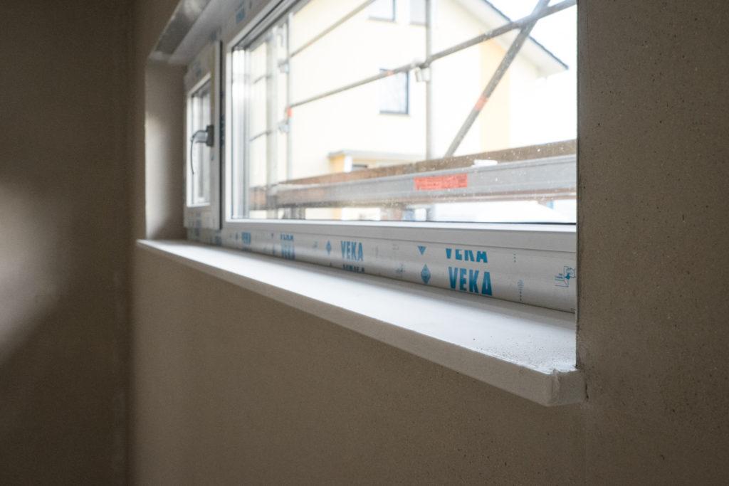 Fensterbank in der Küche