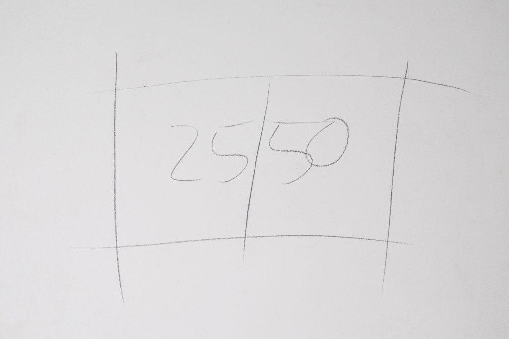 Planung des Ablagefachs in der Dusche
