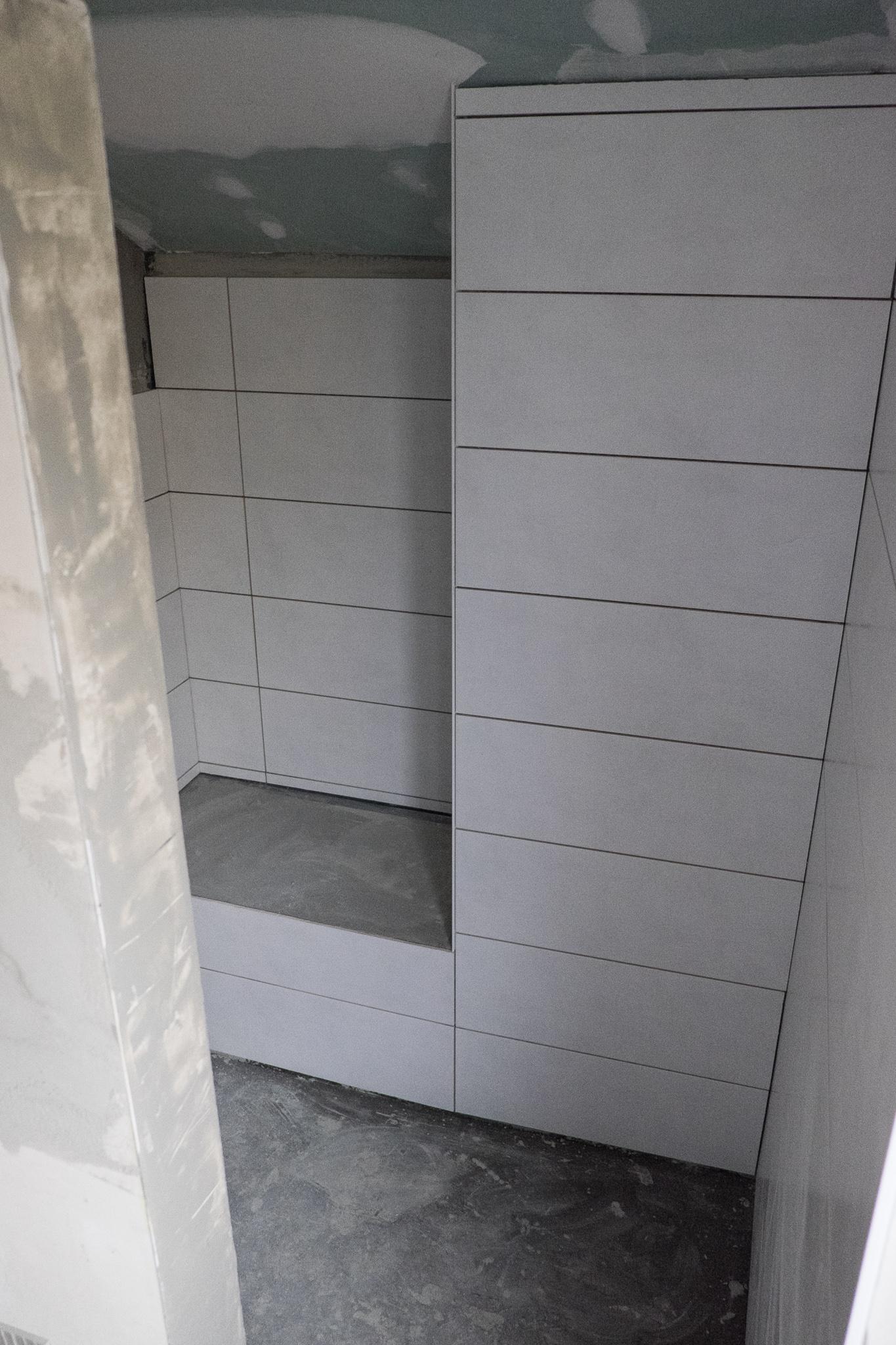 Fliesenarbeiten teil 2 ein haus f r den zwerg for Bilder badezimmergestaltung