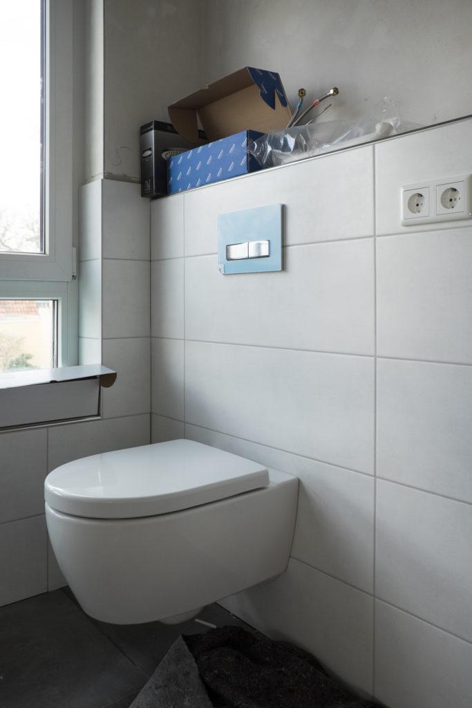 Toiletten, ...