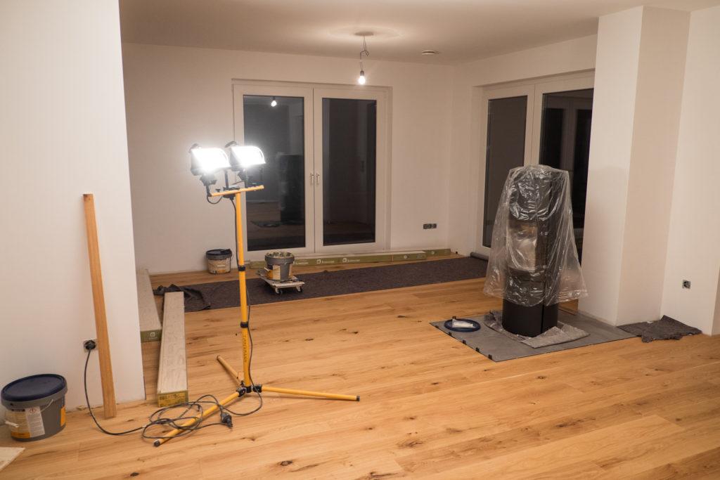 Wohnzimmer fertig!