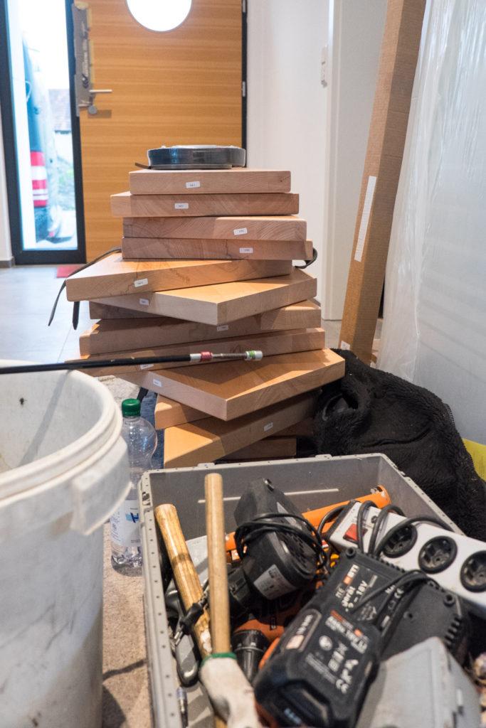 Handwerkszeug für den Treppenstufeneinbau