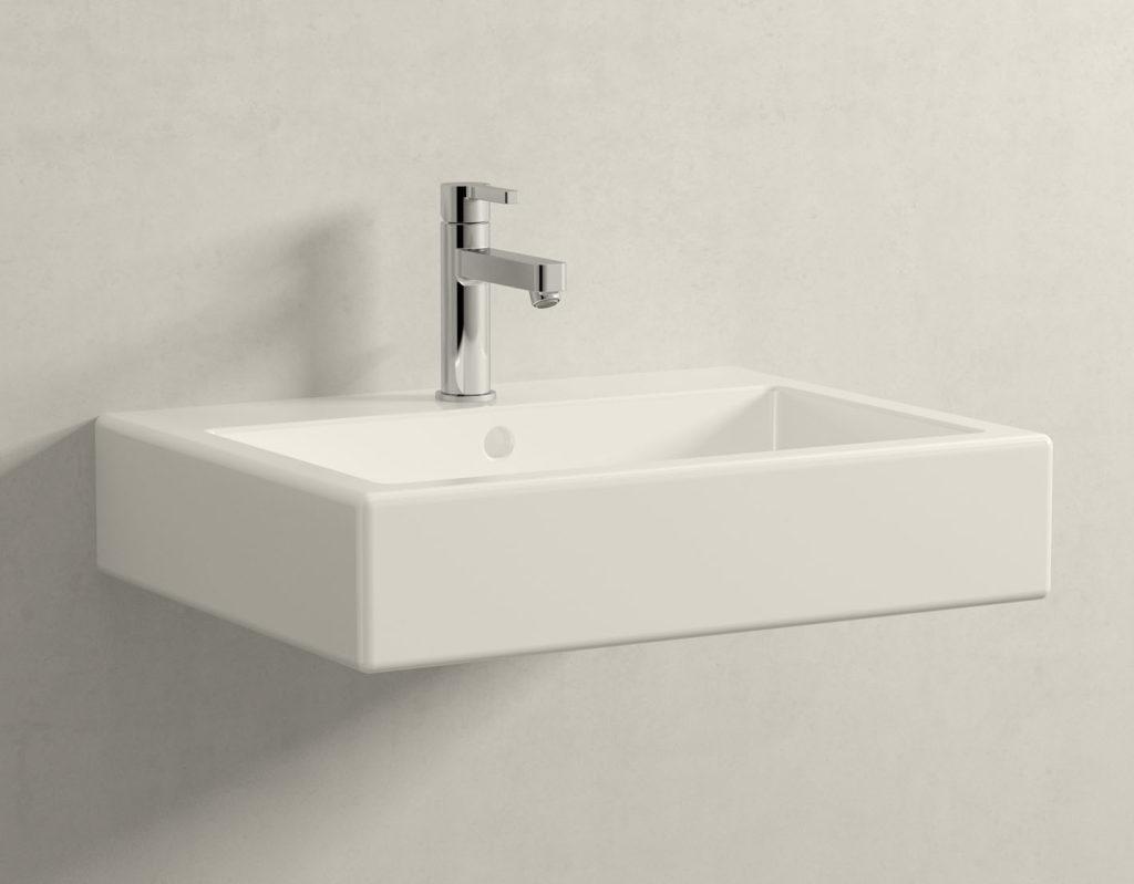 So ungefähr wird es im Gäste-WC aussehen (Duravit Vero + Grohe Lineare)
